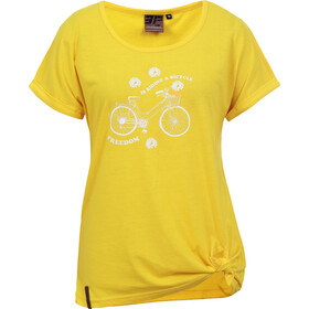 Icepeak Ep Agawam T-shirt Damer, yellow